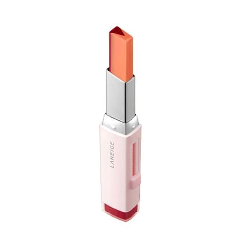 郡オプショナルを通して[New] LANEIGE Two Tone Tint Lip Bar 2g/ラネージュ ツー トーン ティント リップ バー 2g (#05 Apple Jello) [並行輸入品]