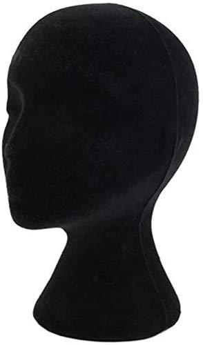 Mannequins de couture reglable Perruque, Femme Mousse de polystyrène Mousse Modèle de tête Manikin Mannequin Perruques Lunettes Support Shop Display Retail & Home Porte vêtement Mannequin