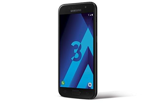 Samsung Galaxy A3 2017 Smartphone, 16 GB, Nero [EU]
