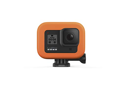 GoPro Floaty for Hero8 Black (Official Accessory) & Amazon Basics GoPro Carrying Case - Small