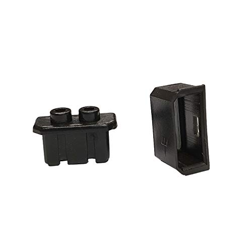 Novatec Stecker für Nabendynamo Shimano, zweiteilig, schwarz