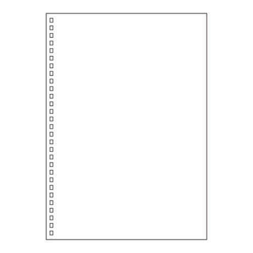 リヒトラブ ツイストリングノート 交換用ノートリーフ [セミB5/無地/30枚] 3個セット