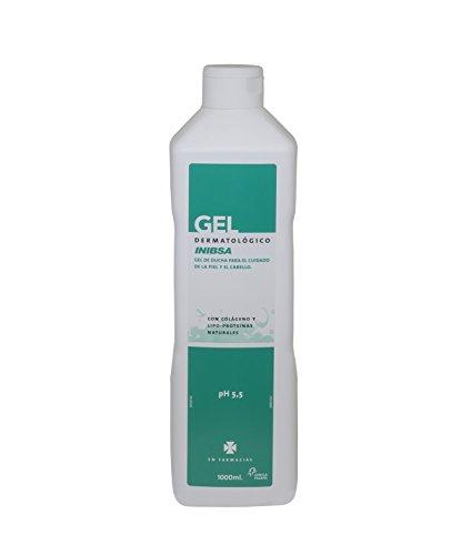 INIBSA gel de ducha dermatológico con colágeno y lipo proteínas bote 1 lt
