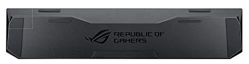 ROG Gaming Handgelenkauflage für ROG Claymore Gaming-Tastaturen mit gepolstertem Schaumkern, Kunstlederbezug und rutschfesten Gummifüßen
