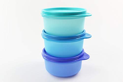 Tupperware Kühlschrank 200 ml Julchen türkis+blau+dunkelblau Mini Panorama 35166