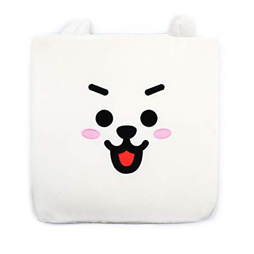 LINE FRIENDS BT21 メモリーフォーム座布団 Memory Foam Cushion (RJ)