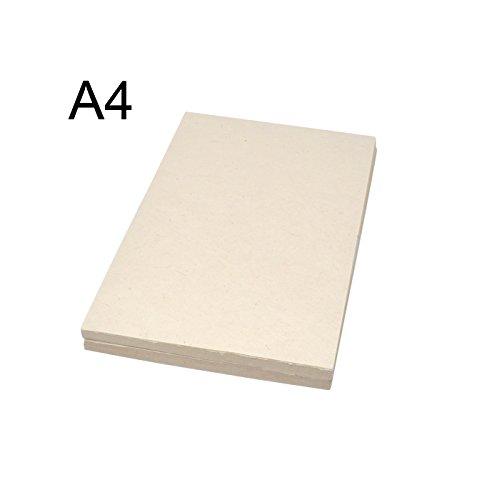 Handgefertigtes Papier in A4-Größe, Naturfarben, Nepalesischer Berg Lokta-Papier, umweltfreundlich, Natur