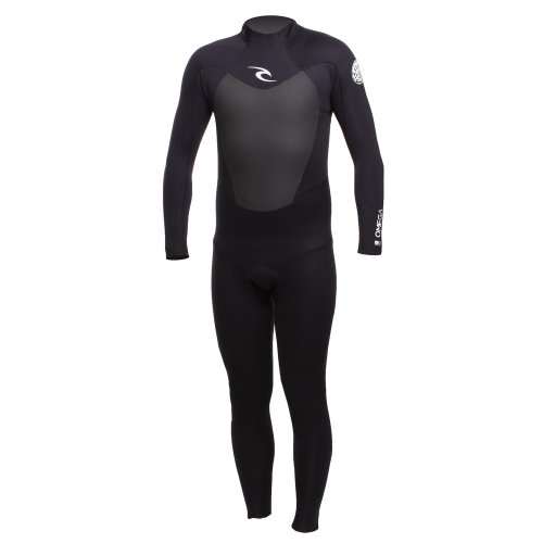 Rip Curl Omega 3/2mm Back Zip GBS Wetsuit WSM4LM BLACK Wetsuit Sizes - Small