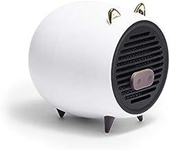 Nrpfell Calentador EléCtrico con Estufa Calentador de Manos Calentamiento RáPido PTC para Dispositivos de Calentamiento de Invierno de Oficina en Casa