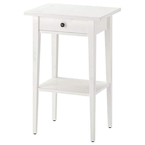 UK Bargain Seller HEMNES Nachttisch, weiß gebeizt, 46 x 35 cm, langlebig und pflegeleicht, Beistelltische, Couchtisch und Beistelltische, Möbel, umweltfreundlich.