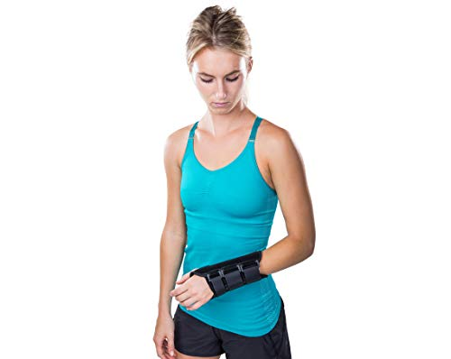 Intended for those suffering from sprains and strains, and for the treatment of Carpal Tunnel Syndrome (CTS) Durable and lightweight, making it ideal for daily movement and low-impact activities Includes a removable contoured aluminum palmer stay whi...