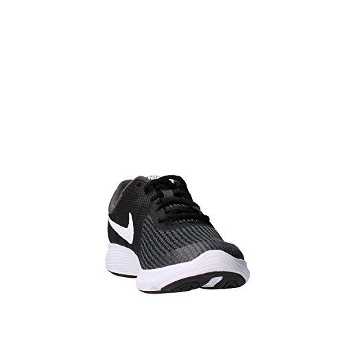 Nike Unisex-Kinder Laufschuh Revolution 4, Schwarz - 7
