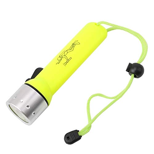 Linterna Wasserdichte Tauch-Taschenlampe, 1200 lm, Q5 LED, Tauch-Taschenlampe