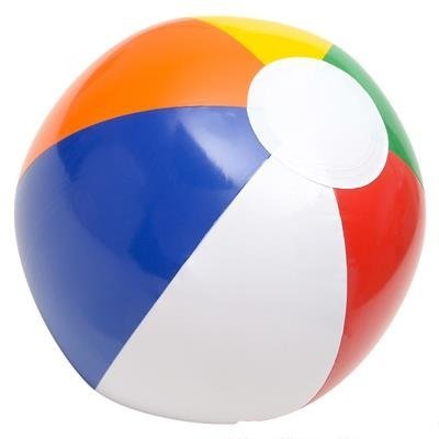 OIG Brands Beach Ball - Bulk Inflatable - Pool Balls for Beach - Party Favors - Beach Toys - Rainbow Party Pack for Family Fun