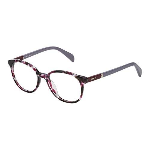 Tous VTO960490L96 Gafas, MORADO, 49/18/140 para Mujer