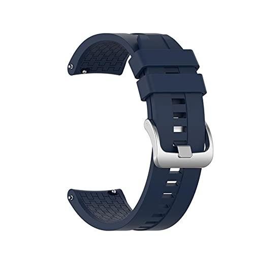 XXY 22 mm 46 mm Correa de Repuesto para Huawei Watch GT Smart Watch Sport Silicone Cinturón Pulsera Correa portátil Accesorios (Color : 10, Size : M)