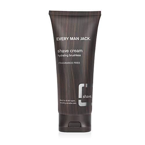Every Man Jack Shave Cream Sensitive Skin Frag-free 6.7oz, 6.7 Oz