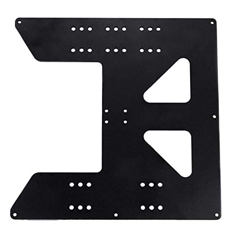 3D Printing Accessories Z Axis Support Aluminum Plate for Heating Bed Compatible with Anet A8 A6 Printer