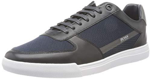 Hugo Boss Herren Cosmopool_tenn_mxme Sneaker, Dark Blue401, 46 EU, 11 UK