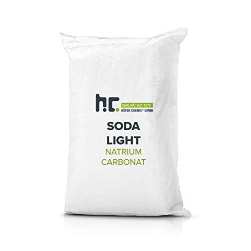 Höfer Chemie 100 kg (4 x 25 kg) Natriumcarbonat (Soda) leicht technische Qualität Vorratspack zur Anhebung des pH Werts im Schwimmbad