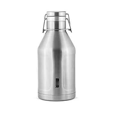 MiiR Insulated Growler Bottle, Stainless, 64-Ounce