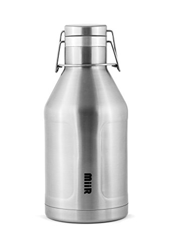 MiiR Stainless Steel Insulated Growler Bottle, 64-Ounce