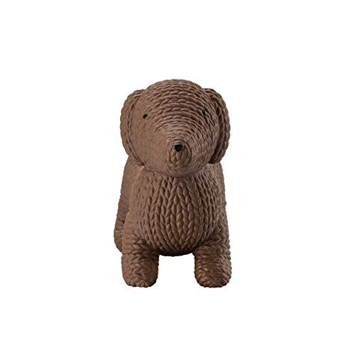 Rosenthal - Pets - Dekofigur, Figur - Dog Alfonso - Farbe: Macaroon Braun - Porzellan - Höhe: 7 cm