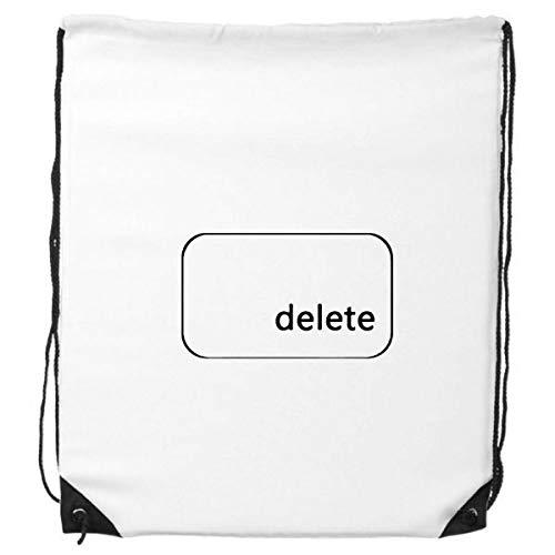 DIYthinker Tastatur Symbol Löschen Rucksack Einkaufs Gift Sporttaschen