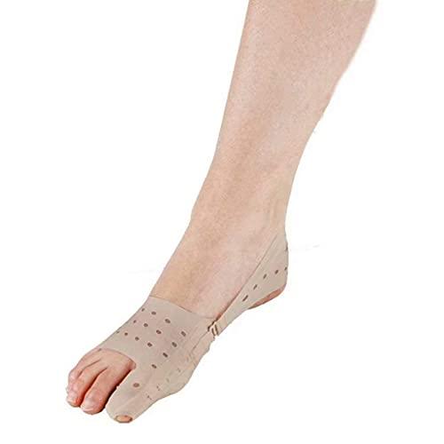Pillowcase 123 Soporte ortopédico para Hallux valgus del Dedo Gordo del pie, para el Tratamiento de Alivio del Dolor de pie, Ideal para Correr Deportes de día o de Noche (Derecha, L)
