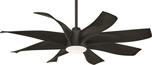 Minka-Aire F788L-ORB Dream Star 60' Ceiling Fan with LED Light & Remote Control, Oil Rubbed Bronze
