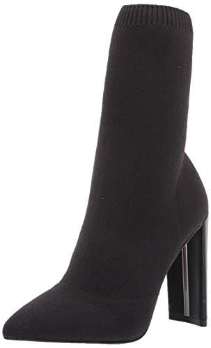 ALDO Women's Deludith Sock Ankle Bootie, Other Black, 8.5
