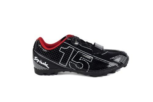 Spiuk 15 MTB - Zapatilla de Ciclismo Unisex, Color Negro/Blanco, Talla 37