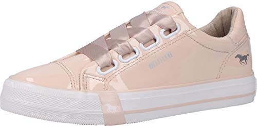 MUSTANG Damen Sneaker Rosa, Schuhgröße:EUR 40