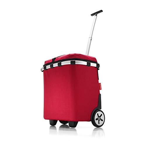 reisenthel thermo carrycruiser ISO/Einkaufstrolley mit Kühlfunktion 47.5 cm red