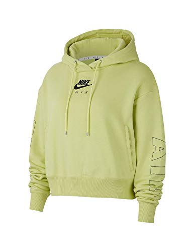 Nike Sudadera con Capucha para Mujer Verde Fluo CJ3082367