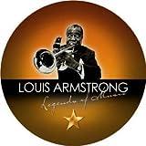 BRISA CD de música LOUIS ARMSTRONG - LEGEND OF MUSIC - edición de colección, edición especial, caja de regalo