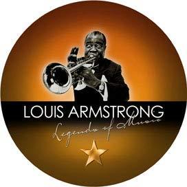 BRISA Musik CD LOUIS ARMSTRONG - LEGEND OF MUSIC - Sammleredition, Special Edition, Geschenkbox