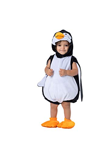 Dress Up America Vestido de pingüino de Halloween - Talla 0-6 Meses