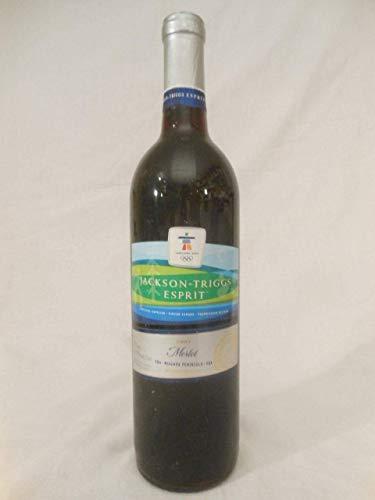 jackson triggs esprit merlot rouge 2007 - canada - une bouteille de vin