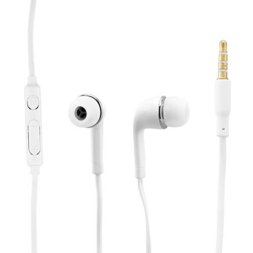 HHuin Auriculares con cable con ajuste de trigo para J5/Jb Auriculares intrauditivos para S4 para auriculares S6 para teléfono móvil I9300