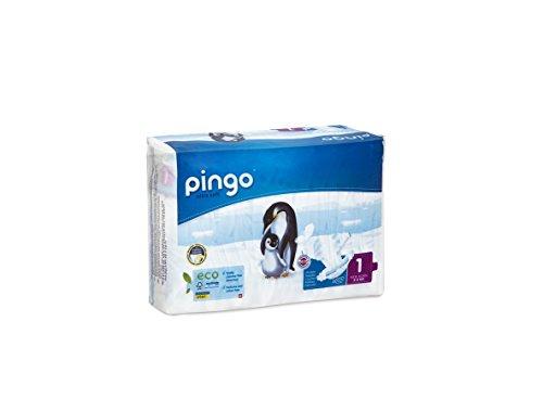 Pingo Windeln Größe 1 New Born (2-5 kg) – Pack 2 x 27 Windeln – insgesamt 54 Windeln