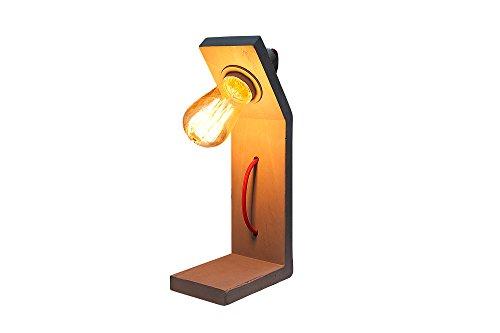 DuNord Design tafellamp industriële look beton B-TONG INDUSTRIAL 30 cm beton grijs tafellamp betonlamp