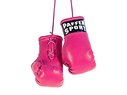 Paffen Sport «Colour» Mini Boxhandschuhe, Anhänger fürs Auto, pink