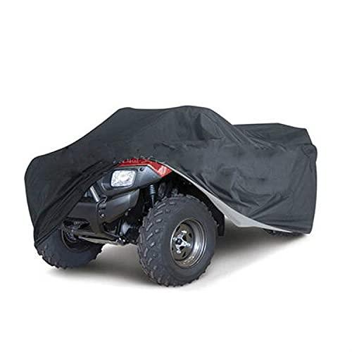Cubierta de la bici cuádruple L: 200*95*106cm 210D Oxford tela Atv coche cubierta capó impermeable, sombrilla, a prueba de polvo