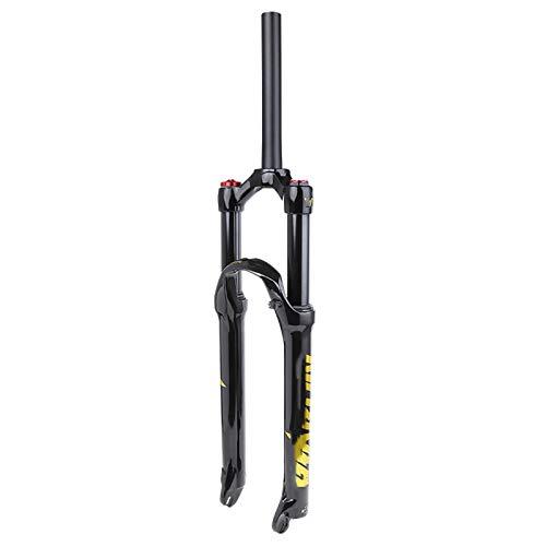 Heizung MTB Horquilla de Suspensión Bicicleta Horquilla Delantera Horquilla de Aire de Aleación de Magnesio Estructura Fuerte Mojadura una Horquilla Accesorios de Bicicleta,A,26inch