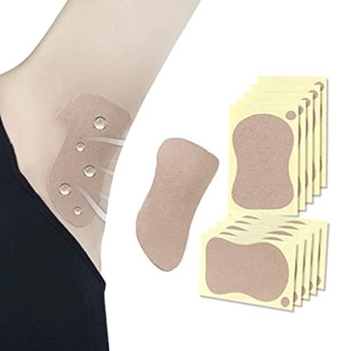 20 Piezas de 9 X 6,5 Cm Almohadillas para El Sudor En Las Axilas Parche Desodorante Axila Unisex Almohadilla para Las Axilas Que Absorbe El Sudor (Color : Skin, Size : One Size)