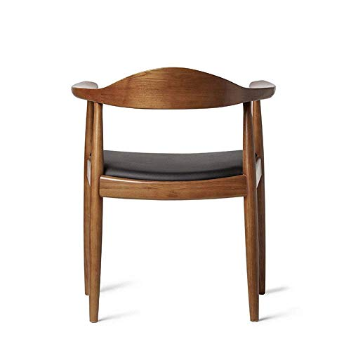 Mesh Chair Office Chair Solid Wood Restaurant Chair Household Presidential Chair Northern Europe Cafe Soft Chair Harmonious home