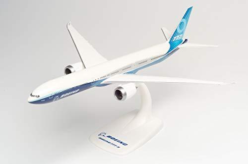 Herpa Boeing 777-9 – N779XW in miniatura per fai da te da collezione e regalo, Multicolore, 612630