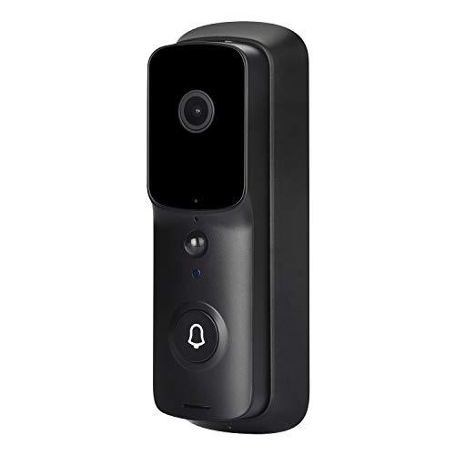 Andifany V10 WiFi Video Doorbell Camera 1080P HD Door Bell Video Intercom CáMara de Seguridad para el Hogar Timbre IP InaláMbrico
