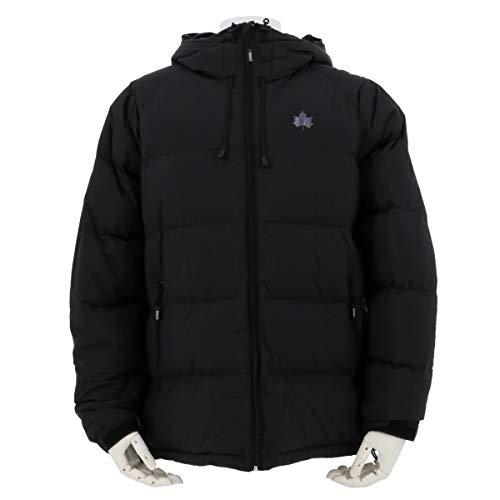 (ロゴス) LOGOS マウンテンレンジダウンジャケット メンズ (ブラック, M)